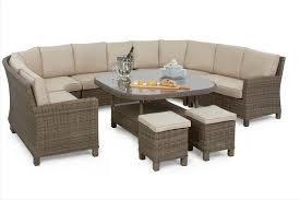 handel assurance casual outdoor möbel wicker schnitts esszimmer sofa sets