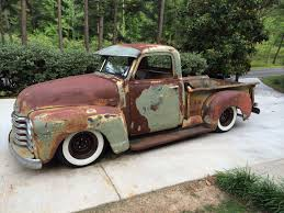 My 1949 Chevy Truck Patina | VEHÍCULOS | Pinterest | Rats, Cars And ... 1950 Chevrolet 3100 Pickup Classic Car Studio Chevy Truck Wallpapers 50 Images Pickup Custom For The Best In Car Care Products Click Genuine Rawhide Leatherwrapped Rod Authority 1952 47484950525354 Hot Custom Vintage Ratrod Ford Mopar Gasser Tshirts 50 Network Restomod Doug Jenkins Garage Proline Early 50s Painted Blue Body 325500 An Old Chevy Truck In Sep 2009 A 194850 Truck Flickr Tci Eeering 471954 Suspension 4link Leaf Beautiful Orange Taken At T