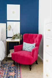 Modern Navy And Pink Master Bedroom   Cozy Chair   Cozy Chair, Pink ... Bedroom Ideas Designs Inspiration Trends And Pictures For 2019 Modern Ding Chair Mid Century Dsw Eames White Plastic Chairs At Wooden Table In Minimal Ding Room Interior Wit Informative Makeup Vanity Amazon Com Luxury Women Hair Bench Girl Fniture For Small Neck Support Recliners Spaces Up To 70 Off Visual Hunt Cute With Black Moroccan John Lewis Partners Teenage Girls Bedroom Teen Bedrooms Girls Best Ideas Design Storage Tips Apartment Therapy Desk Top Blog Review