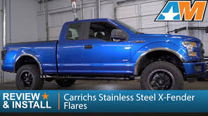 2015-2017 F-150 Carrichs Stainless Steel X-Fender Flares - Polished ... Bushwacker Fits 4runnerpickup 3100911 Cout Fender Flares Trim Putco 97166 Titan Truck Equipment And Accsories 97402 Sierra Flare Black Pocketstyle Set 2014 12016 F250 F350 Super Duty Pocket Style Amazoncom 2091402 Ford Bolton Riveted Look 0208 Ram 1500 Sb Truck Chrome Wheel Fender Flare Molding Trim Rust Removal Installation 96 F Lund Intertional Bushwacker Products 97222 Polished 94002 Boss