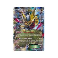 xy ancient origins 057 98 giratina ex half art pokemon from