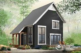 Willowgate 2 Bedroom Transitional Style Cottage Design With Mezzanine And Cathedral Ceiling Affordable Construction