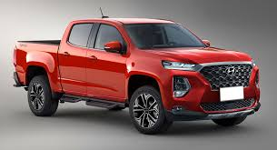 100 Pickup Truck Cap Hyundais Rugged Pickup Truck Could Use GV80 Inline Six