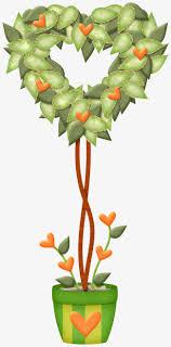 coeur de en pot joli pot de feuilles du coeur de belles feuilles les feuilles