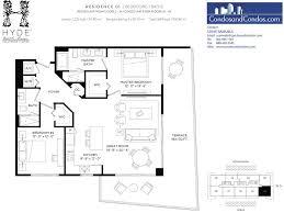 100 Modern Beach House Floor Plans Hyde Hollywood Preconstruction Condos For Sale