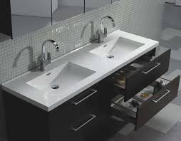 Bathroom Double Vanity Dimensions by Wall Mounted Bathroom Vanities Design Installing Wall Mounted