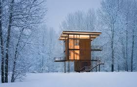 delta shelter un chalet dans la forêt décoration maison