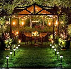 Extraordinary Pictures Of Outdoor Patio Lighting Design Ideas Interesting Dining Room With