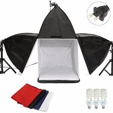 100 Studio Tent Photo 16 Quot Cube Photography Light Amp Backdrop Amp Softboxes Kit Plu
