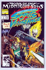 Ghost Rider Blaze Spirits Of Vengeance 1 1992 Near Mint 999