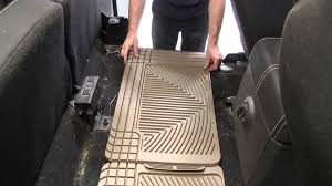 review of the weathertech rear floor mats on a 2008 ford f 350