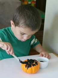 Books About Pumpkins For Toddlers by Spider Craft For Kids Using Mini Pumpkins Buggy And Buddy
