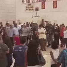 Stevie Wonder Attempts A Free Throw Shot