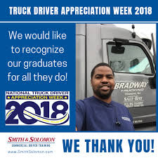 Truckdriverappreciationweek - Hash Tags - Deskgram Bradway Trucking Inc Vineland Nj Rays Truck Photos Ritchie Holds Largestever Auction In Hartford Conn Cstruction Ceos Community Service Kreilkamp Truckload Refrigerated And Dry Van Carrier Untitled Trip To Lynn Mass Train For A New Career This Fall Us Department Of Transportation Federal Motor Safety Air Brake Test Cdl Youtube