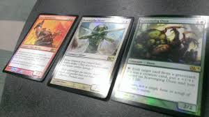 Sliver Deck Mtg Modern by M14 Promo Card Art For All Three Duels Promo Cards Including