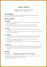 Skills For Resume Examples