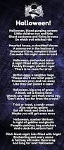 Short Poems About Halloween by Top 20 Halloween Love Poems That Rhyme And Scary