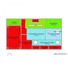 plan cuisine collective plan restauration collective plan 13 pièces 37 m2 dessiné par
