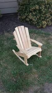 Children's Cedar Adirondack Rocking Chair - The Rocking ...