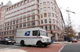 USPS Selected Six Finalists For ZEV-Capable Mail Trucks Project Postal Mailman Delivers Letters Mail Truck Route Stock Video Footage Memorabilia Post Office To Honor Pickup Trucks With Forever Stamps Usps Long Life Vehicles Last 25 Years But Age Shows Now Vehicle Wrecks Truck Testing The Creative Vado Youtube Grumman Llv Wikipedia 79 Jeep Cj7 Cj5 Amc For Sale This 1969 Ford Step Through Van Converted A Catering 1984 Chevrolet D30 Military Postal Unit Pickup Item Uncle Sam Bets On Selfdriving Trucks To Save Hd Video 2003 Jeep Wrangler Rhd Right Hand Drive Mail Delivery Truck