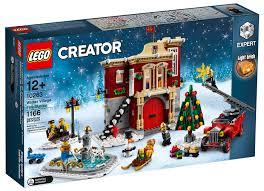 LEGO Creator Expert Winter Village Fire Station (Set #10263 ...