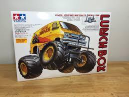 Tamiya Midnight Pumpkin Black Edition by Tamiya 1 12 Lunchbox Monster Van Unboxing Youtube