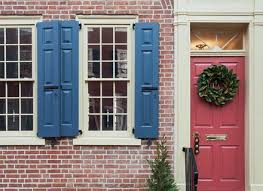 What Color To Paint My Front Door Navy Blue House Exterior Home