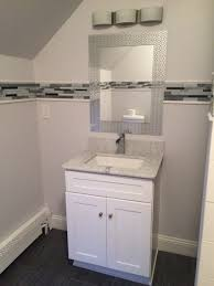 Glacier Bay Bathroom Vanity by Carrara Marble 24