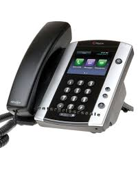Polycom VVX 501 IP Phone (2200-48500-025) POE Refurbished | Office ...
