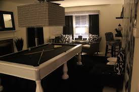 Game Room Ideas With Pool Table My Black White RoomSitting Lower Level Lounge