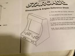 Mame Arcade Bartop Cabinet Plans by Bar Top Mame Arcade Machine With Table For Couch Height Play