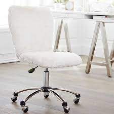 Acrylic Desk Chair With Arms by Pottery Barn White Desk Chair Roselawnlutheran