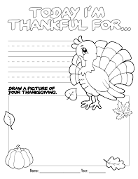 Thanksgiving Activity Pages For Kids