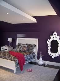 Grey And Purple Living Room Paint by Bedrooms Alluring Purple Paint Colors Plum And Silver Bedding