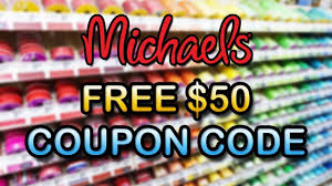 Free Michaels Coupon Code 2019 ✅ Free $50 Michaels Promo Code & Voucher  Working In 2019! ✅ Michaels Art Store Coupons Printable Chase Coupon 125 Dollars 40 Percent Off Deals On Sams Club Membership 2019 Hobby Stores Fat Frozen Coupon 50 Off Regular Priced Item Southern Savers Black Friday Ads Sales Doorbusters And 2018 Entire Purchase Cluding Sale Items Free Any One At Check Your Team Shirts Code Bydm Ocuk Oldum Price Of Rollections
