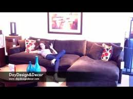 crate barrel s lounge sectional review youtube