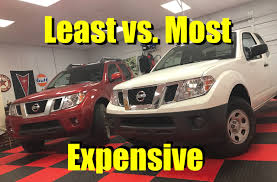 100 Truck Pro Okc Least Vs Most 2017 Nissan Frontier Base Or Loaded PRO4X What