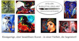 handgemalte bilder kaufen modern abstrakt burgstaller