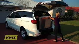 Hertz Mobility Vehicle: Kia Carnival - YouTube