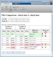 comparing files and folders matlab simulink