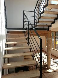 escalier quart tournant avec palier 14 escalier