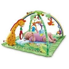 fisher price tapis de la jungle mon top pour bebe