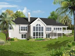 3 Bedroom Ranch Floor Plans Colors Carmel Place Atrium Ranch Home Color Image Of House From