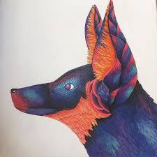 Colouredpencil Milliemarotta Lovecolouring Milliemarottawildsavannah Wildsavannah Adult ColoringColoring