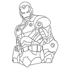 Coloring Page Iron Man 14 Top 20 Free Printable Pages Online