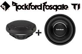 Two Rockford Fosgate T1S1-10 10