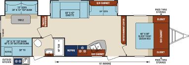Travel Trailer Floor Plans With Bunk Beds by 2018 Sporttrek 322 Vbh Travel Trailer By Venture Rv Harvey Rvs