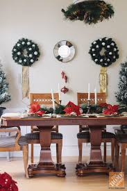 Christmas Decorating Ideas For The Dining Room Golds Creams Silver And Minimal Red