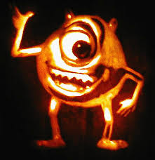 Mike Wazowski Pumpkin Carving Patterns by Noel U0027s Pumpkins 2000 2002