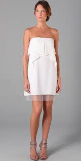 bcbgmaxazria fei fei strapless dress shopbop
